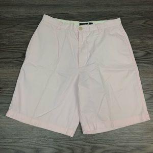 J. Crew Light Pink Flat Front Shorts 31